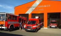 Návštěva u hasičů v České Vsi