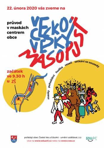 Českoveský masopust 2020
