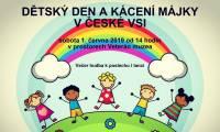 Den dětí a kácení májky