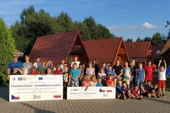 Letní sportovní tábor v Pokrzywné