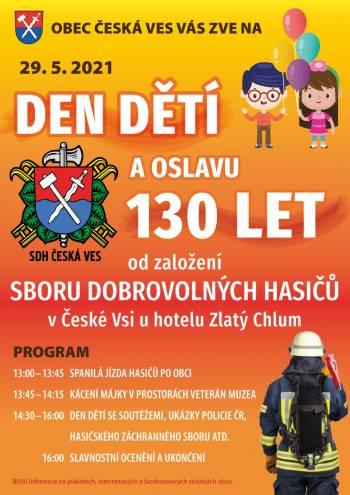Pozvánka na Den dětí