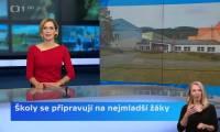 Jak se u nás připravujeme na návrat nejmenších žáčků? Krátká reportáž České televize.