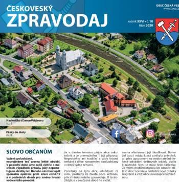 Naše aktivity v Českoveském zpravodaji - přečtěte si o nás v online archivu!