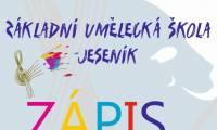 ZUŠ Jeseník působí přímo u nás ve škole: Zápis 2021